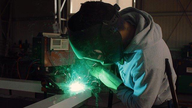 student welder